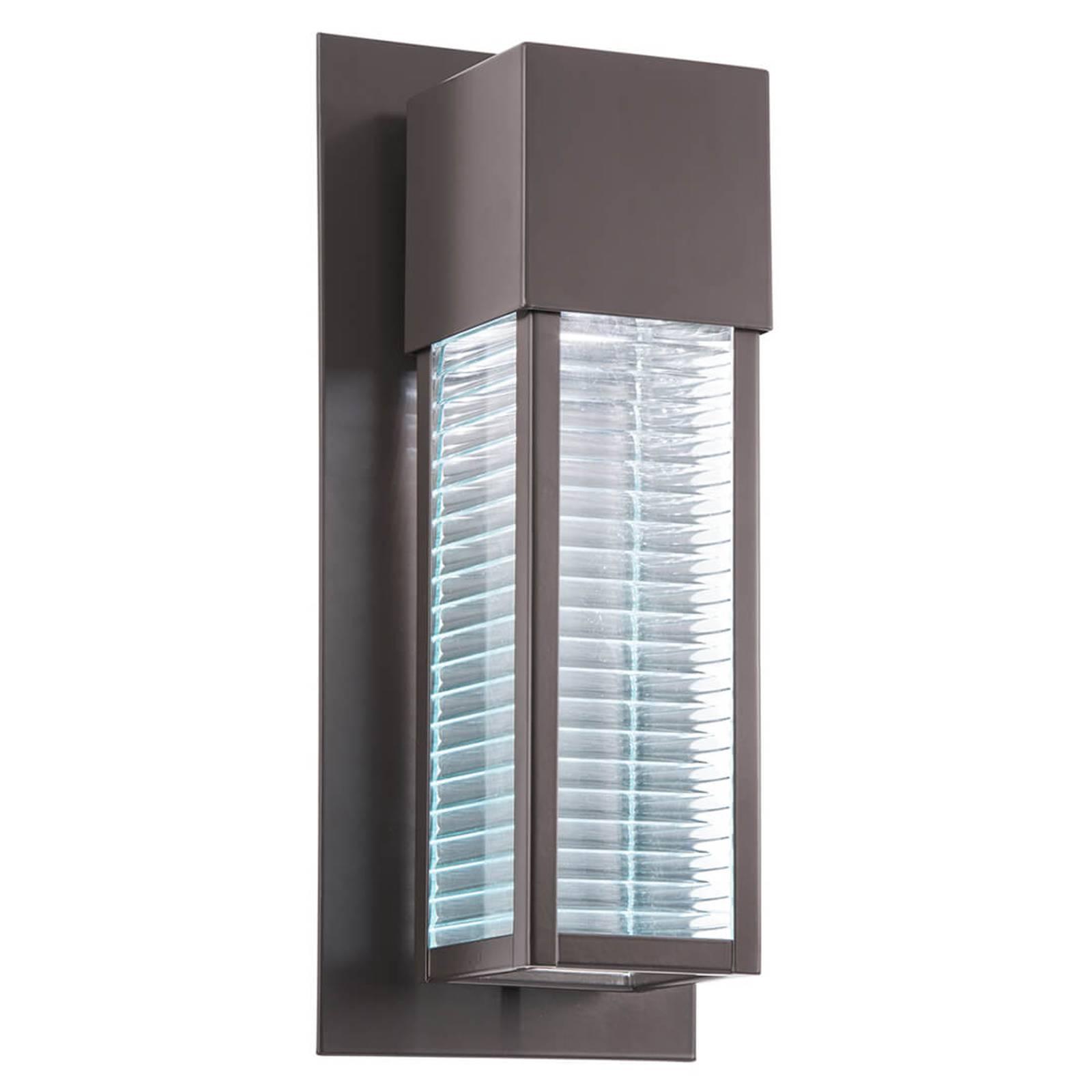 Topmoderne LED-Wandleuchte Sorel für außen