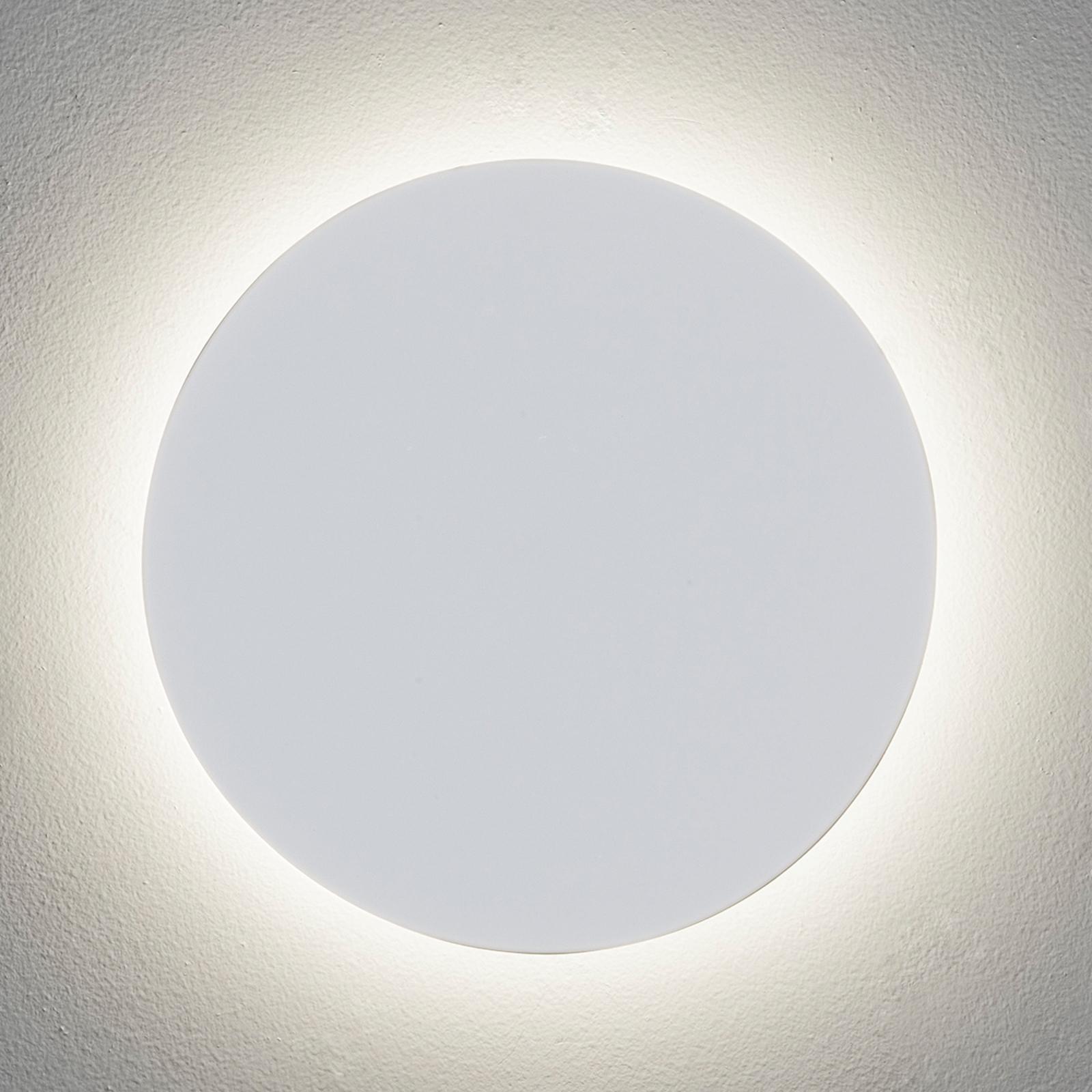 Eclipse Round LED-vegglampe med flott effekt