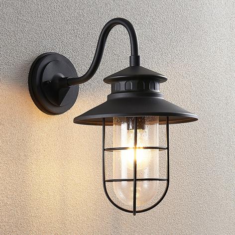 Lindby Kyan venkovní nástěnné světlo, výška 40 cm