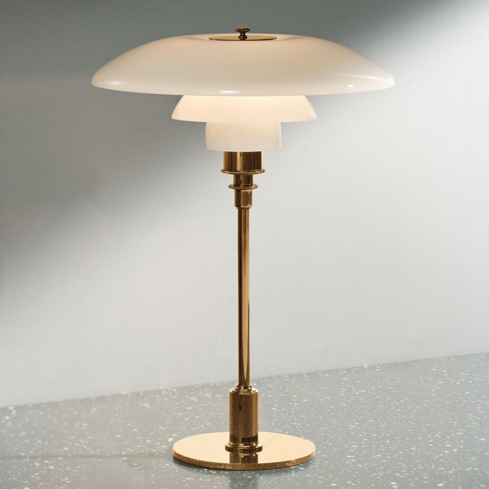 Louis Poulsen PH 3 1/2-2 1/2 tafellamp messing