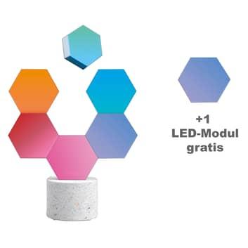 Cololight sfeerlamp Stone set+module, 7 st., voet