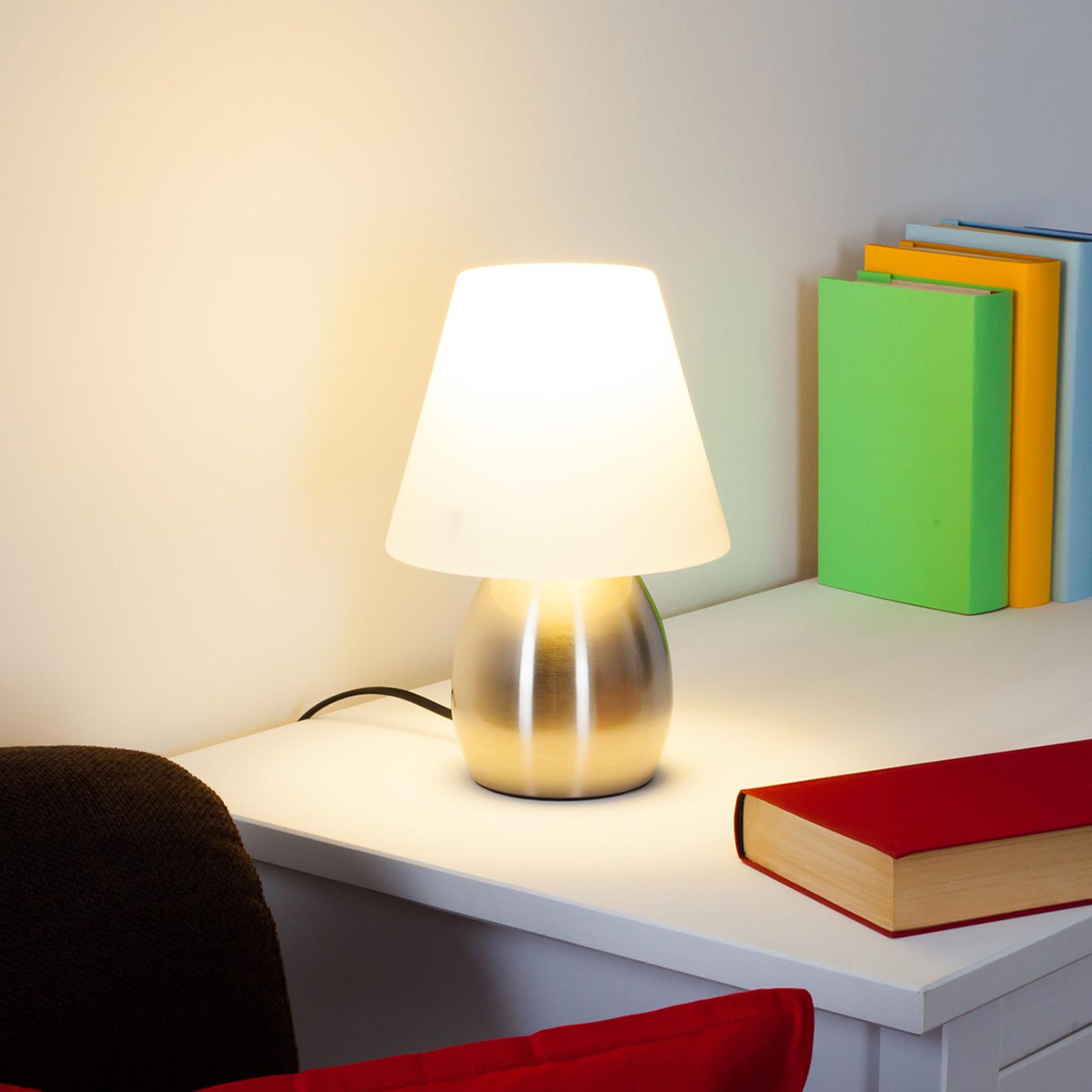 Dekorative Tischlampe Emilan mit E14-LED-Lampe kaufen ...