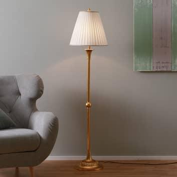 Tyylikäs DONATA-jalkalamppu,laskosvarjostin