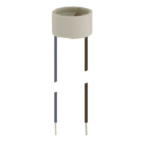 Fassung für HV-Halogenlampen, Sockel GU10