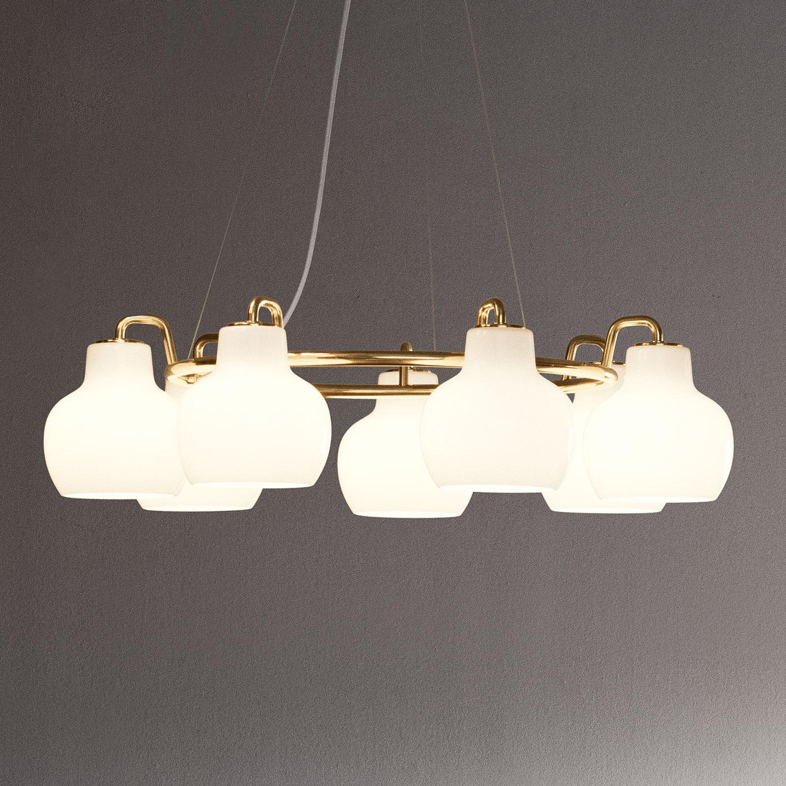 Louis Poulsen lámpara VL Ring Crown 7 luces