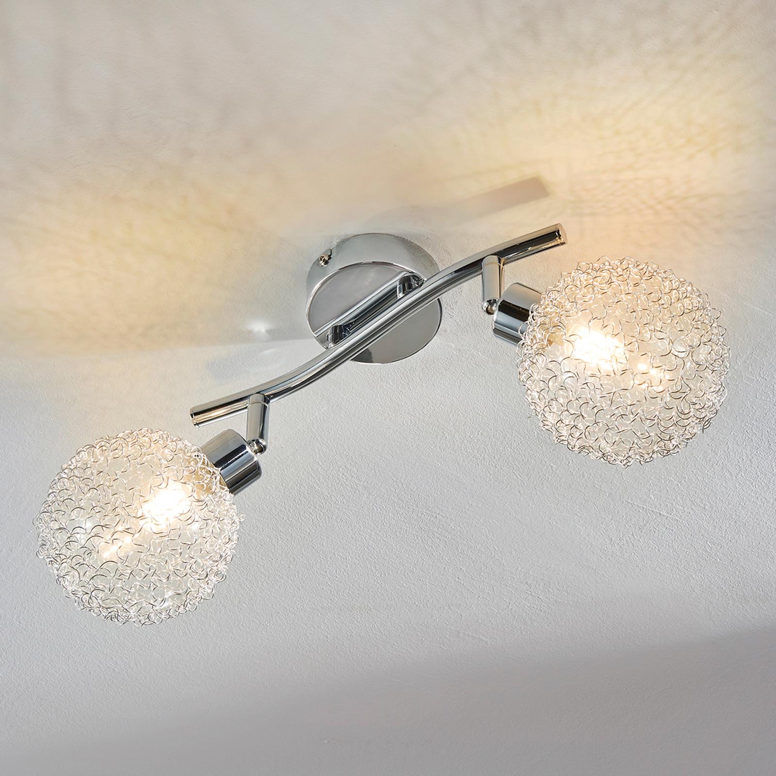 2-punkts LED-taklampe Ticino