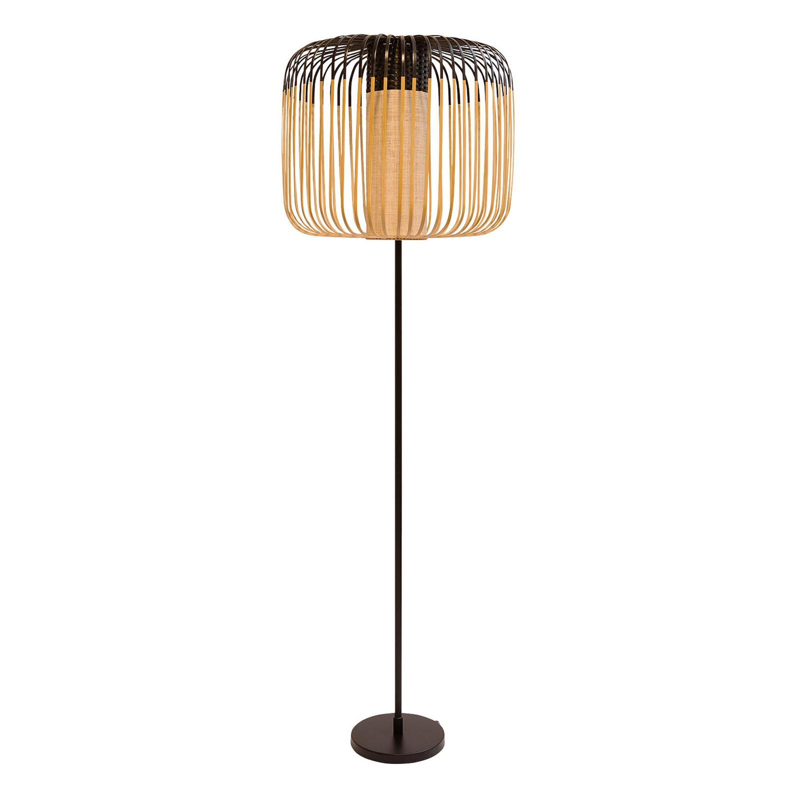 Forestier Bamboo Light lampadaire à 1 lampe noir