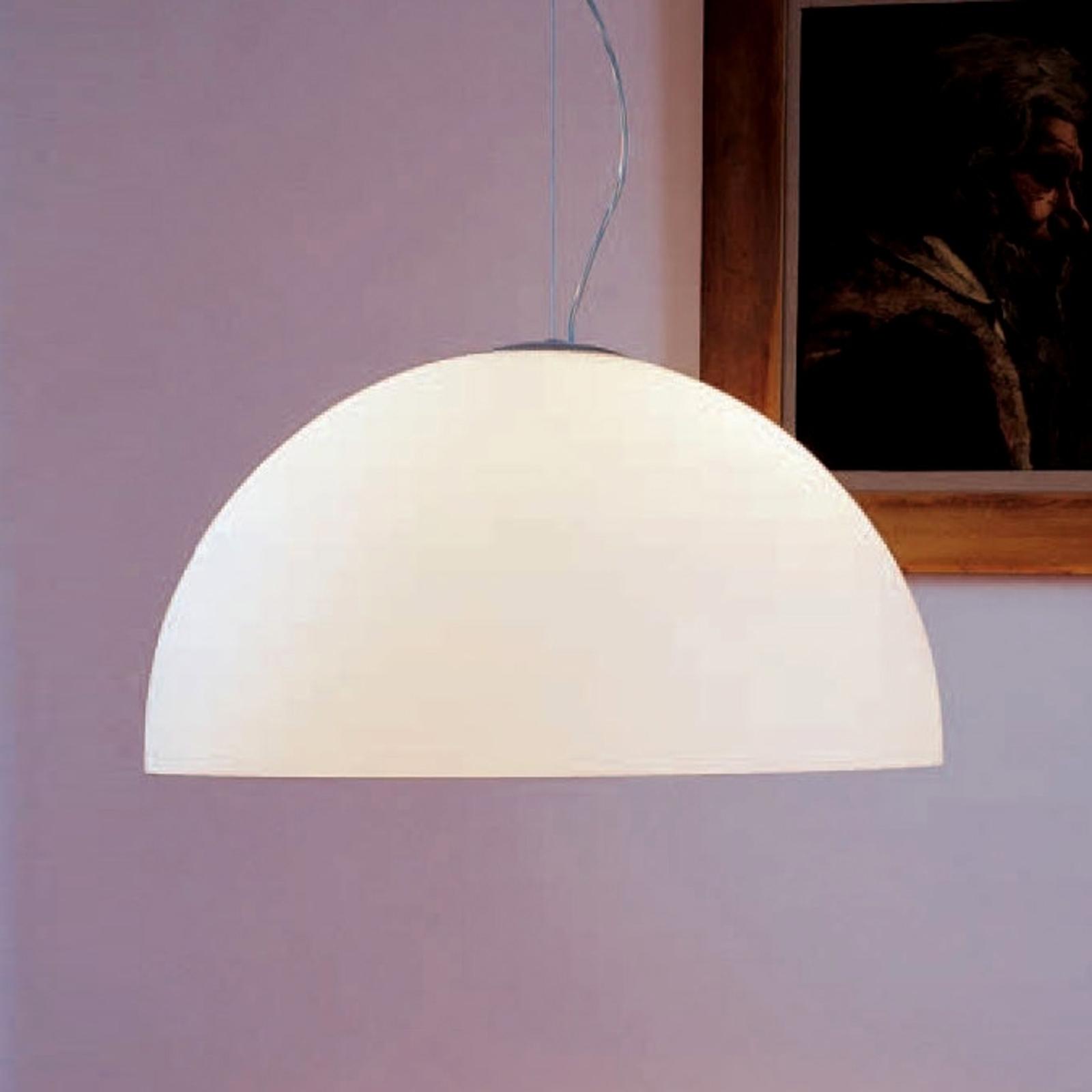 Lampa wisząca SONORA ze szkła opalowego, 38 cm