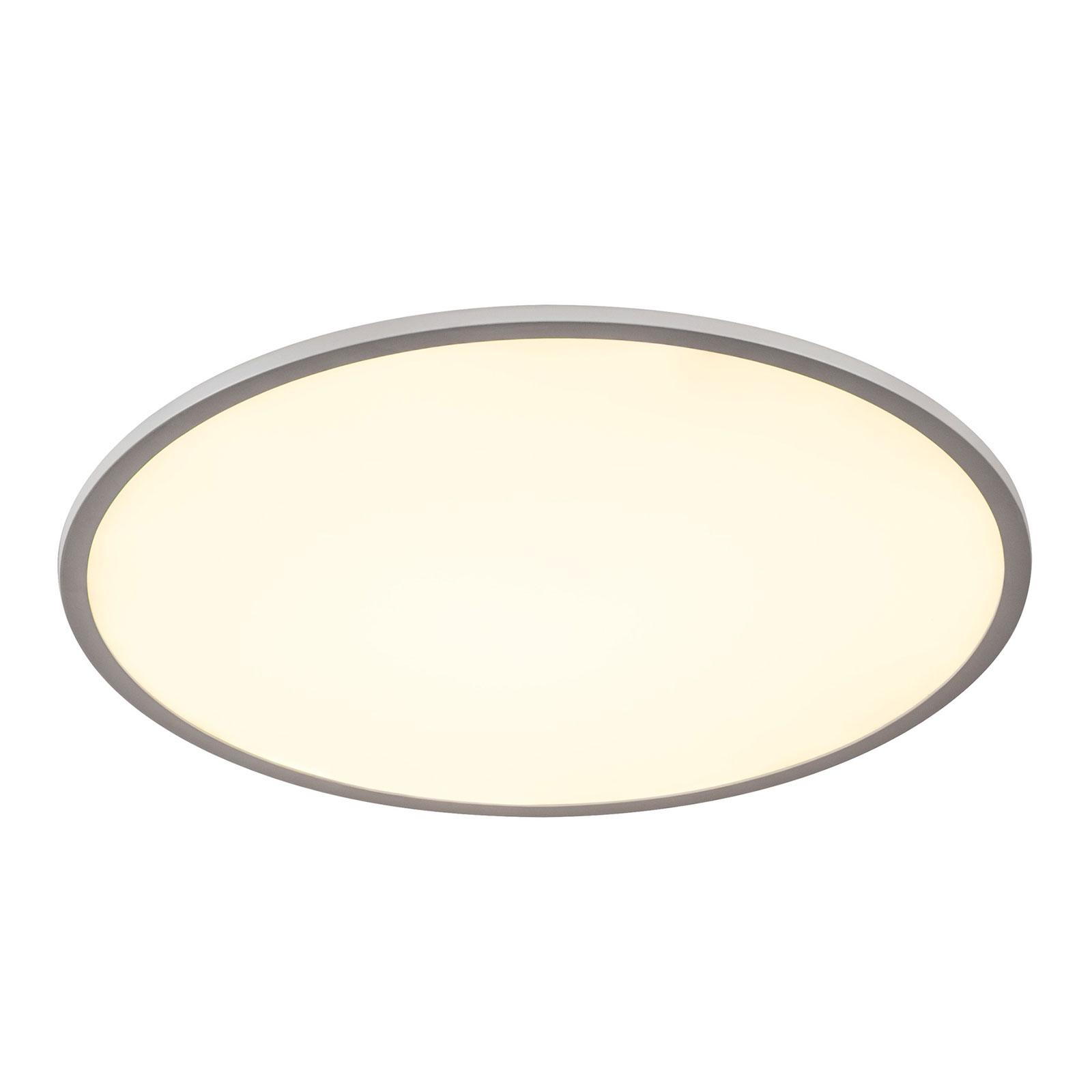 SLV Panel 60 LED-taklampe, 3000K, sølvgrå