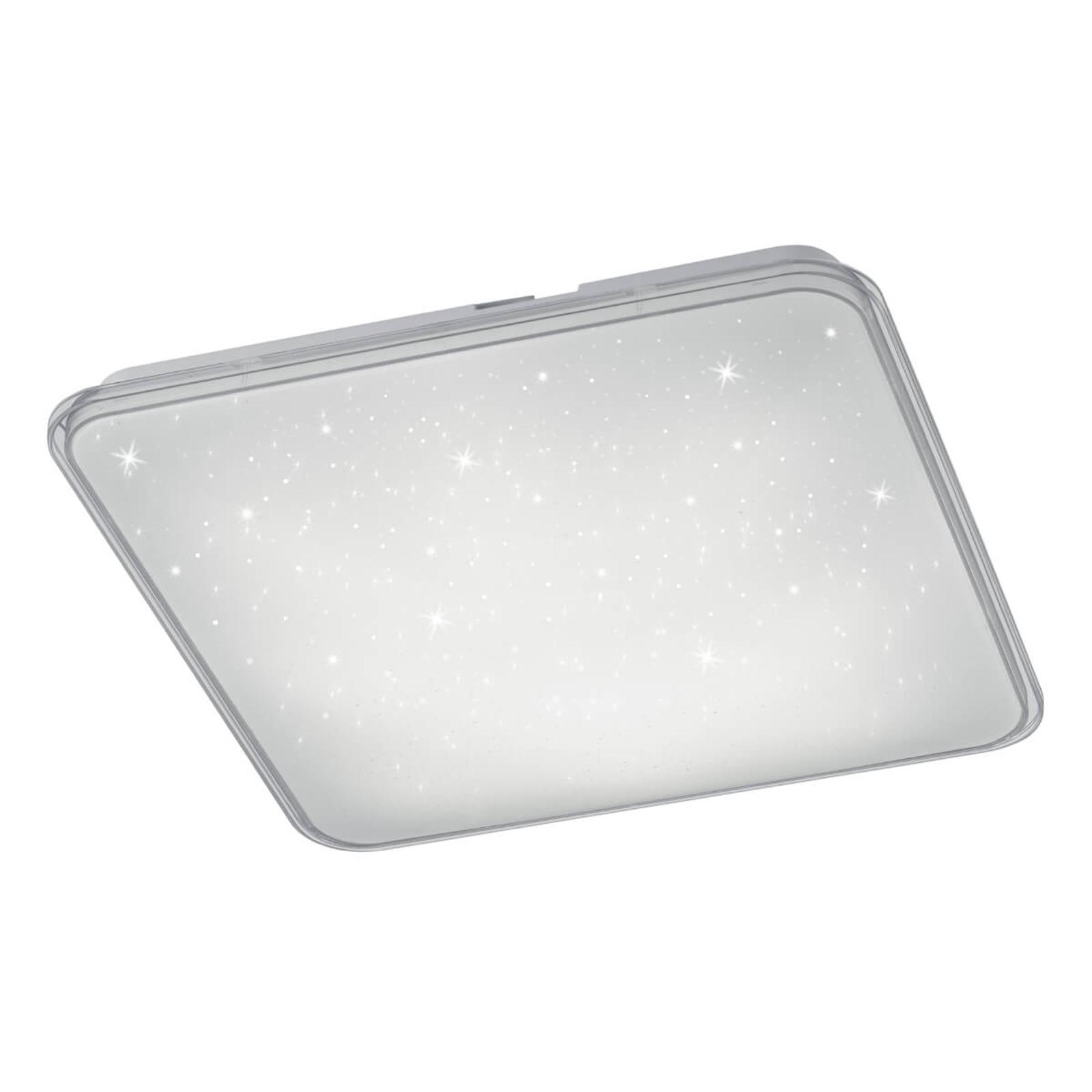 Kwadratowa lampa sufitowa LED Contrast