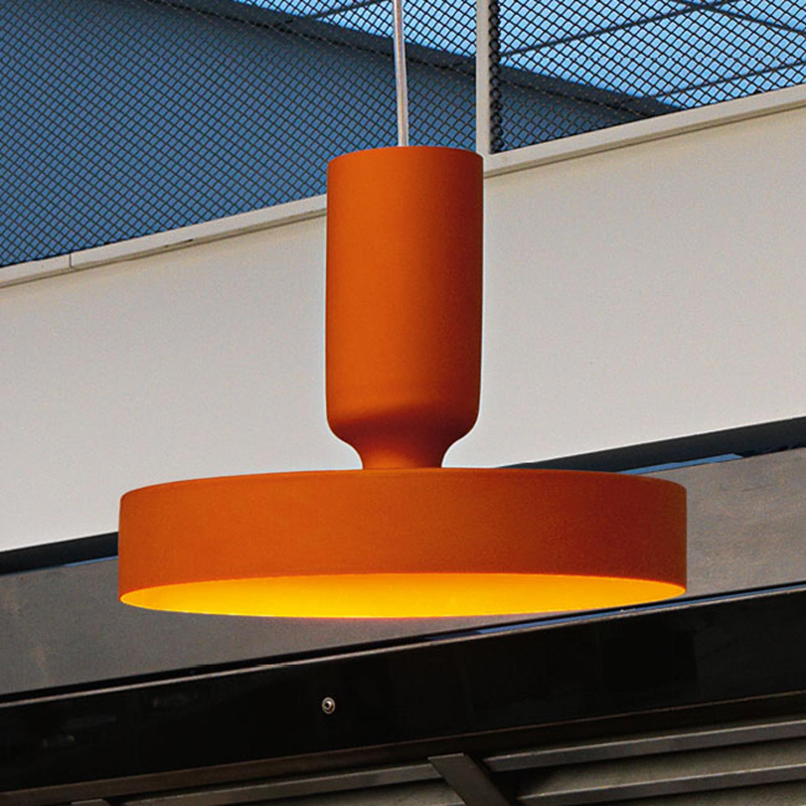 Modo Luce Hammer lampa wisząca Ø 18cm pomarańczowa