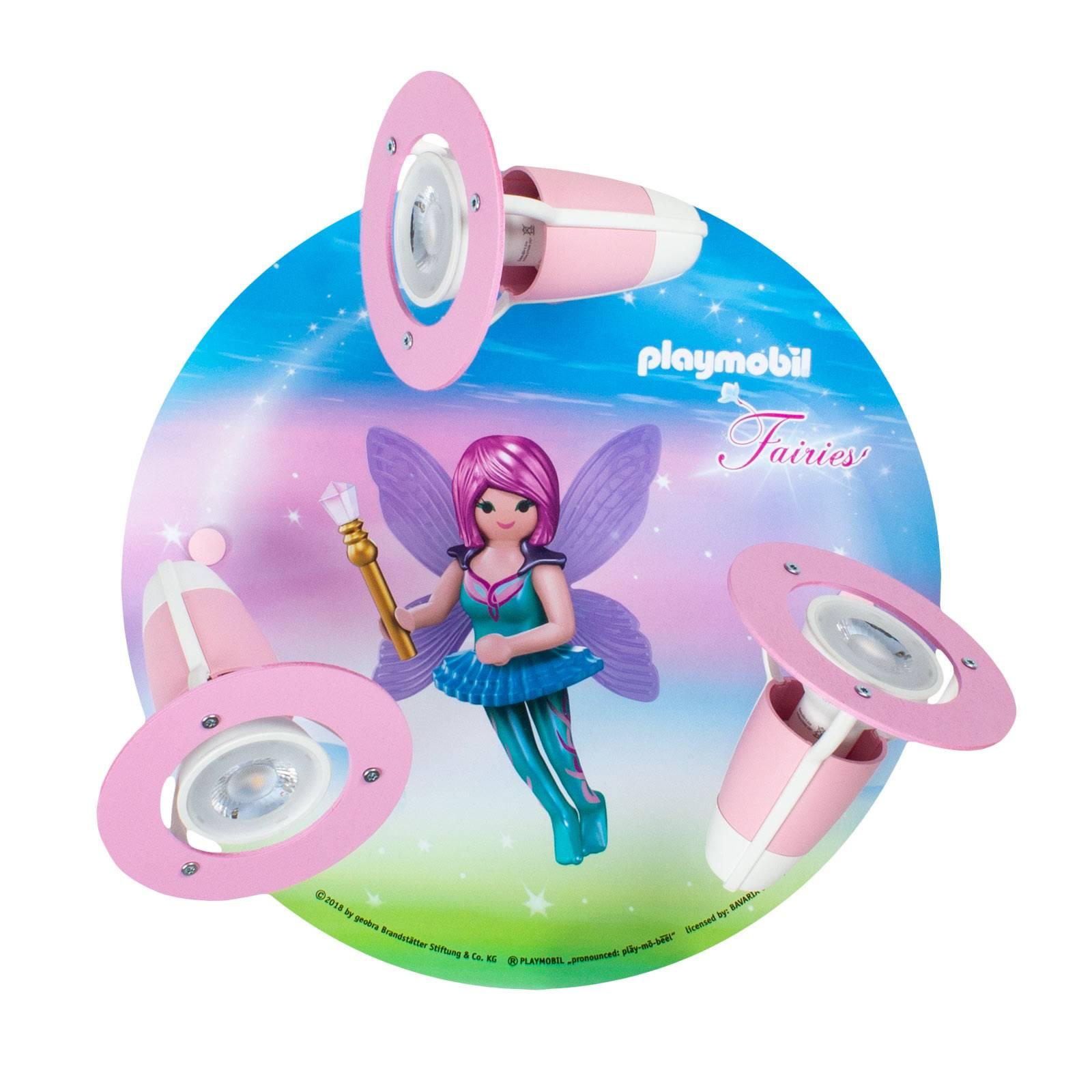 Plafondlamp 3 per spot PLAYMOBIL Fairies
