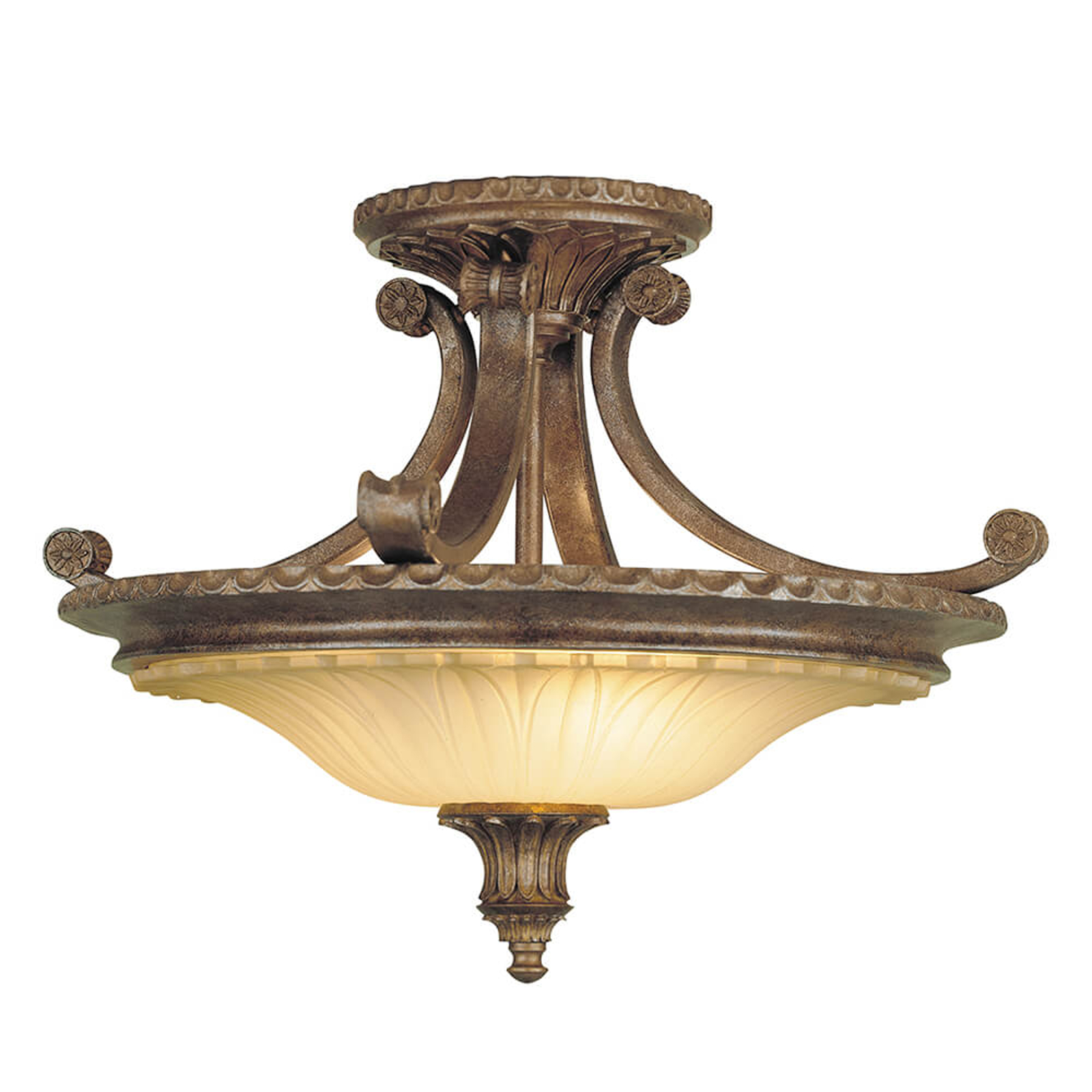 Plafondlamp Stirling Castle in antiek ontwerp
