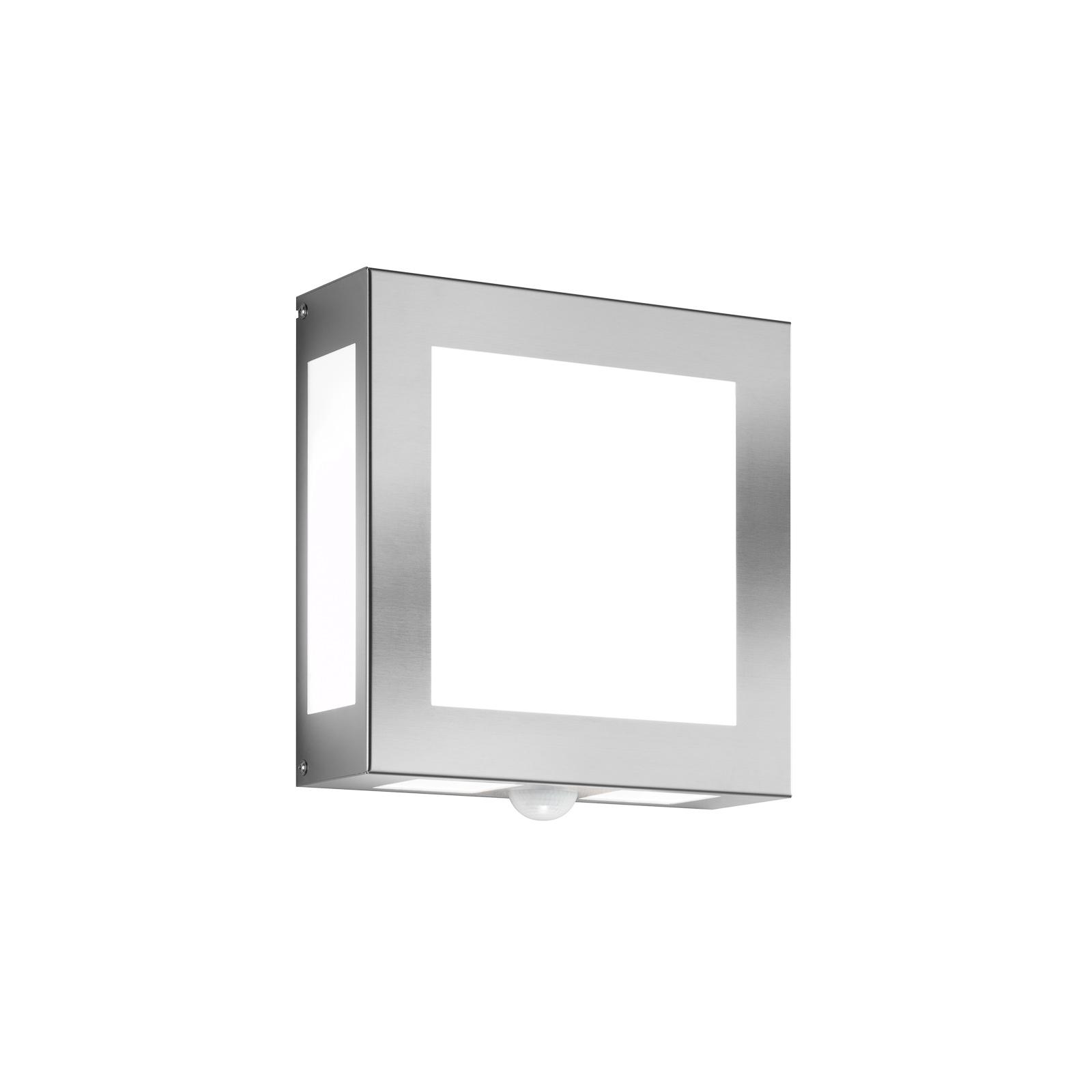 Vonkajšia nástenná lampa Legendo, nerez a snímač_2011014_1