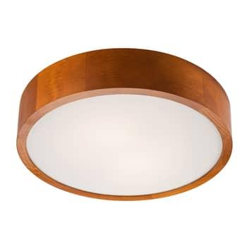 Lampa sufitowa Kerio, Ø 37 cm, sosna rustykalna