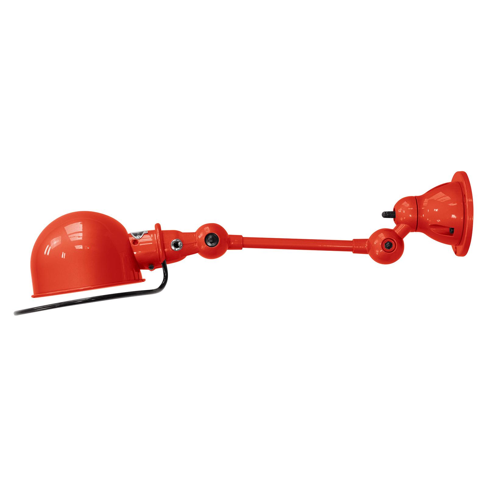 Jieldé Loft D2501 flexibele wandlamp, rood