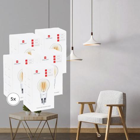 Yeelight Smart ampoule LED filament lot de 5