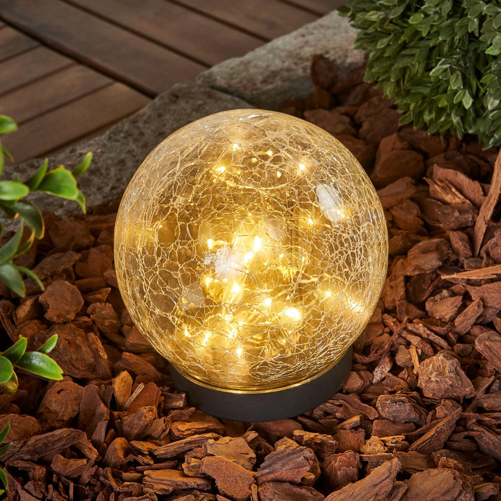 Glory - kuleformet solcelledrevet bordlampe