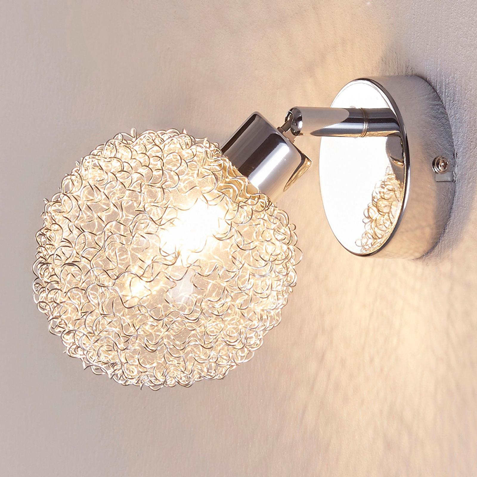 Vakker LED-vegglampe Ticino