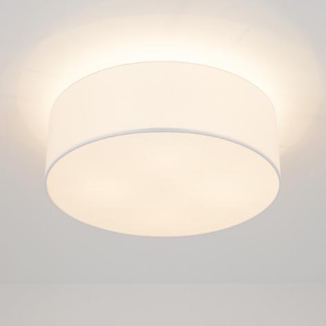 LED-taklampe Gala, 50 cm, chintz hvit
