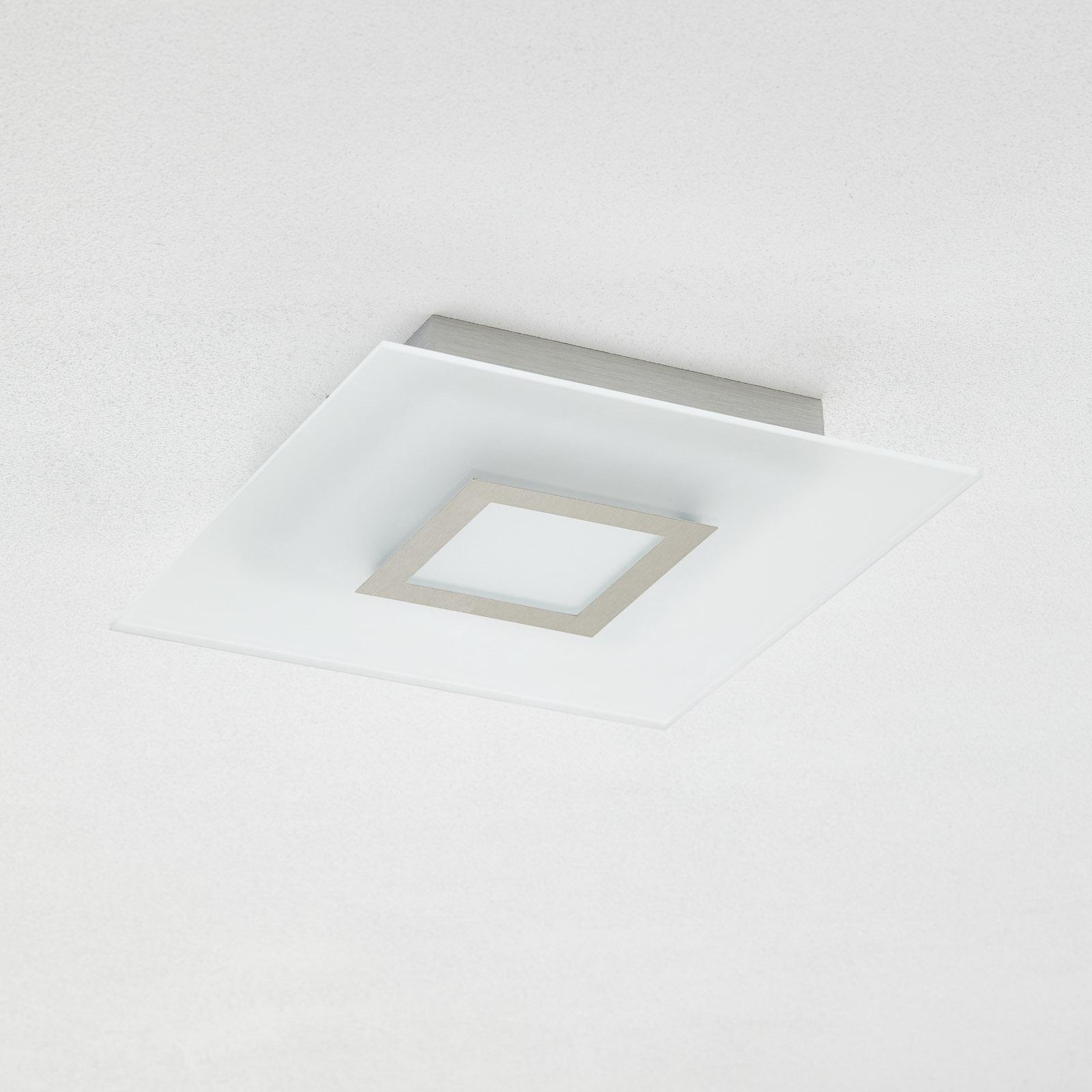 Flat - vierkante LED-plafondlamp, dimbaar