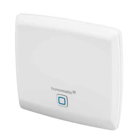 Homematic IP Access Point besturingscentrum, Cloud