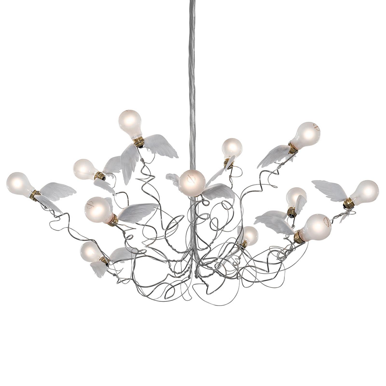 Ingo Maurer Birdie - LED závěsné světlo kabel čirý