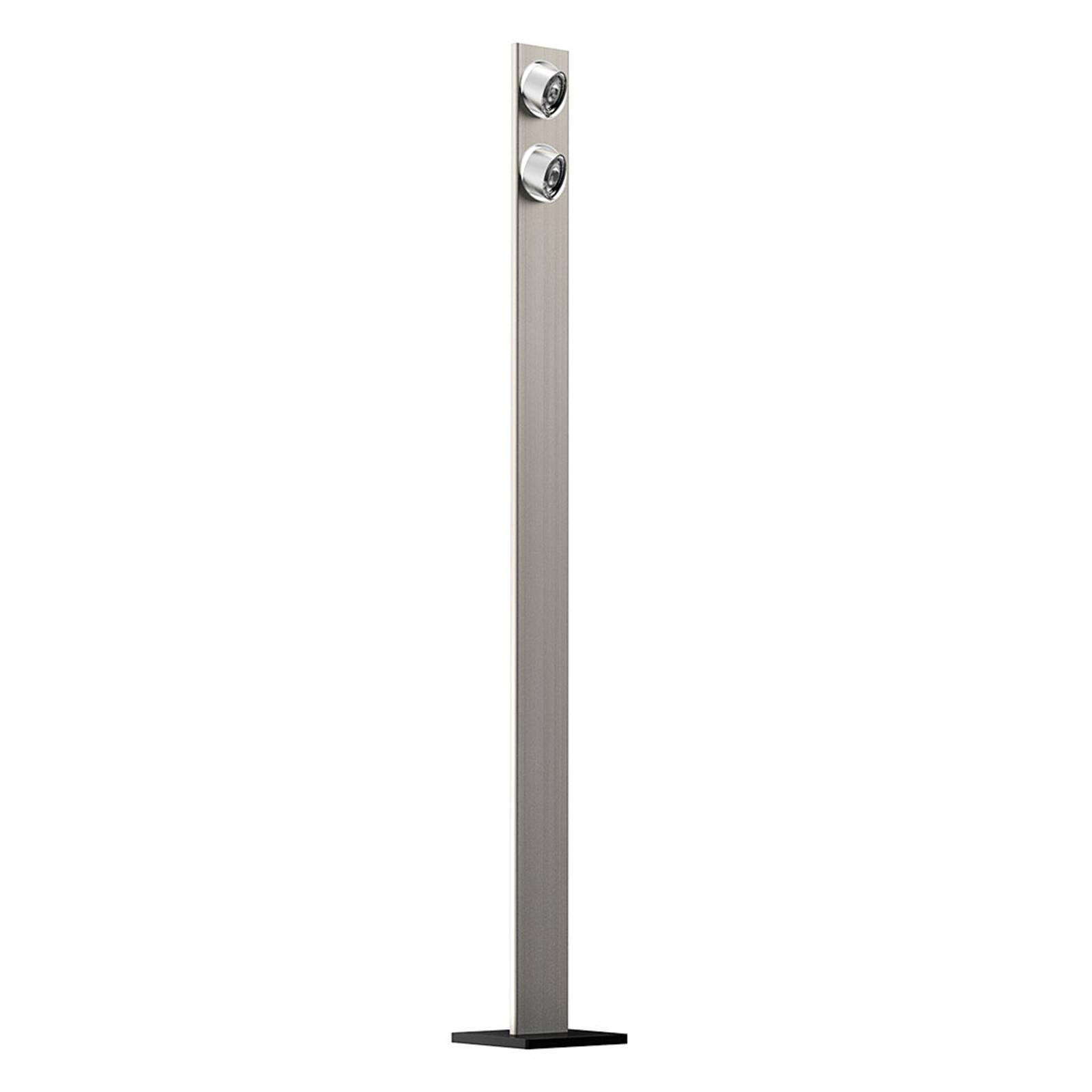 LED-Stehleuchte Light Wave mit Touchdimmer