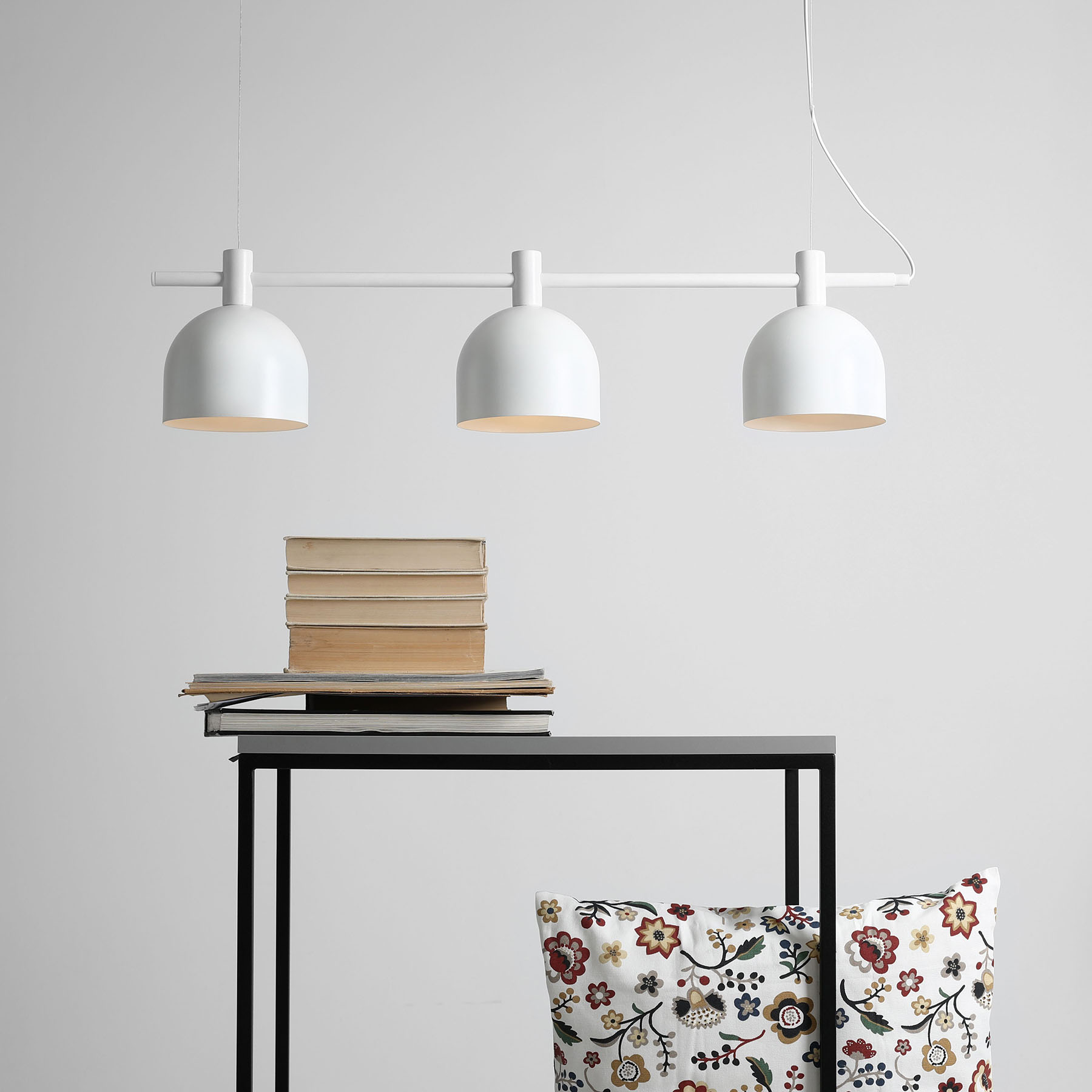 hanglamp 976, 3-lamps, wit