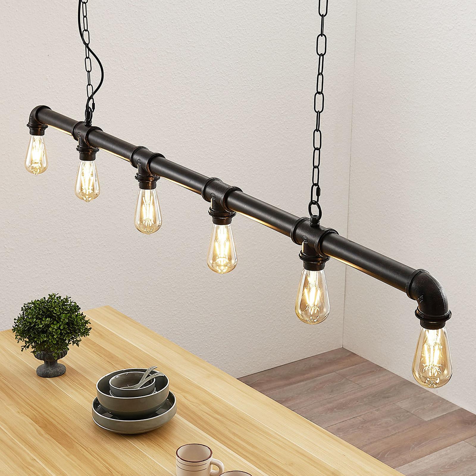Lampa wisząca belka Josip w stylu industrialnym