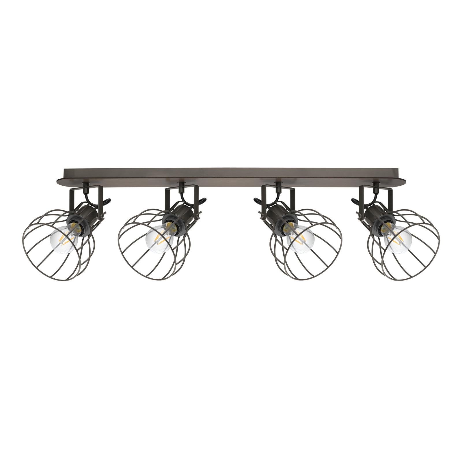 Plafondlamp Sambatello, 4-lamps