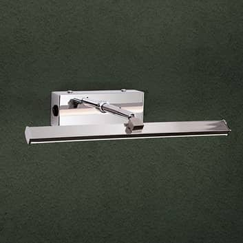 Förkromad LED-tavelbelysning Suren – 30cm