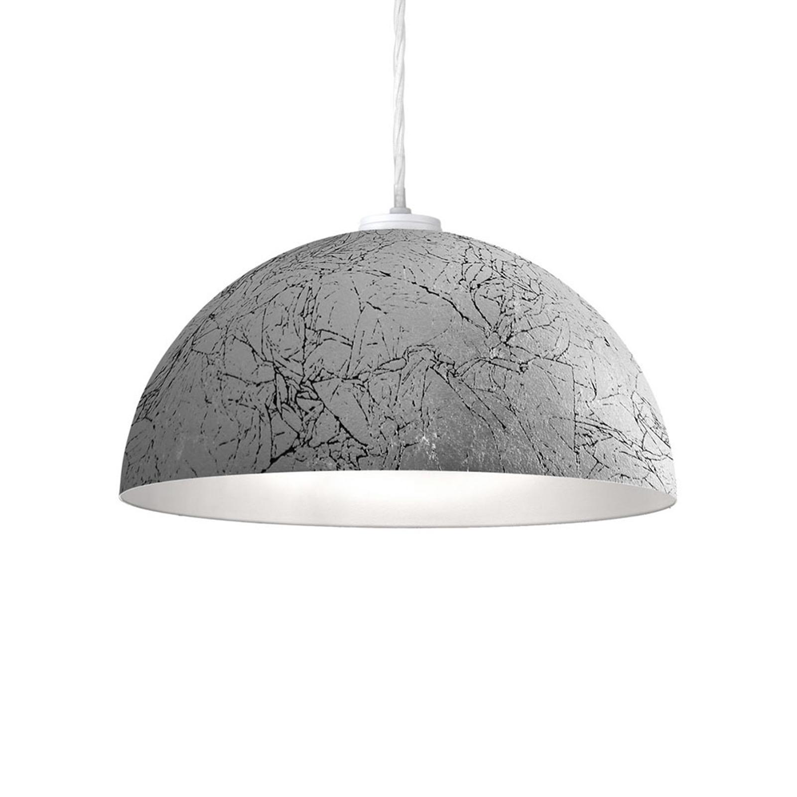 Nástěnné světlo Cult Vintage, stříbro, Ø 40 cm