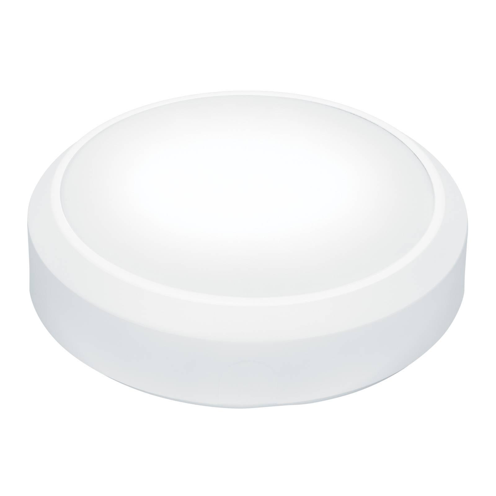 THORNeco Lara Wandleuchte Ø33 cm, weiß Ring Sensor