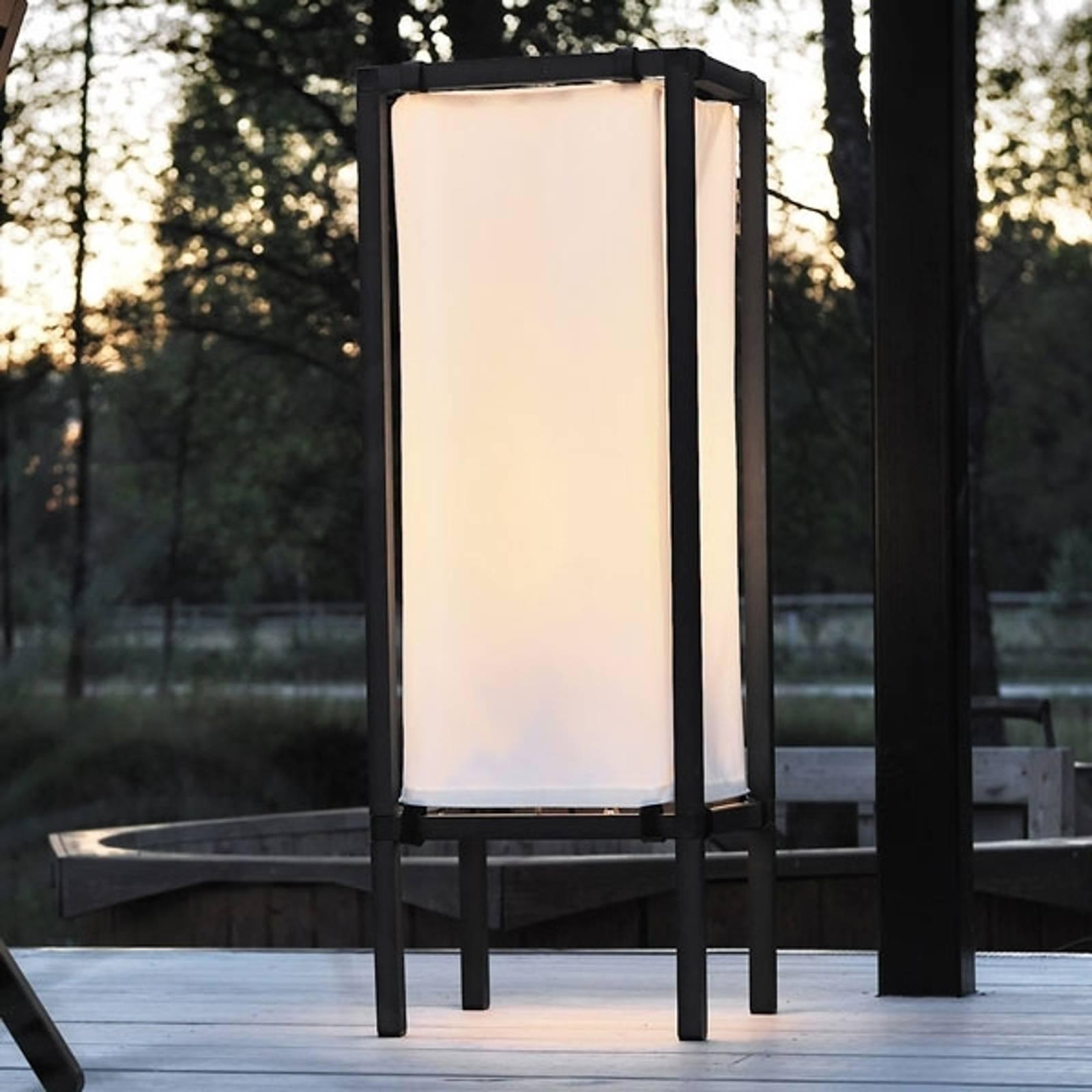Moderne vloerlamp NEW PALERMO met stof