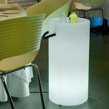 Newgarden Palma secchiello LED solare + accu