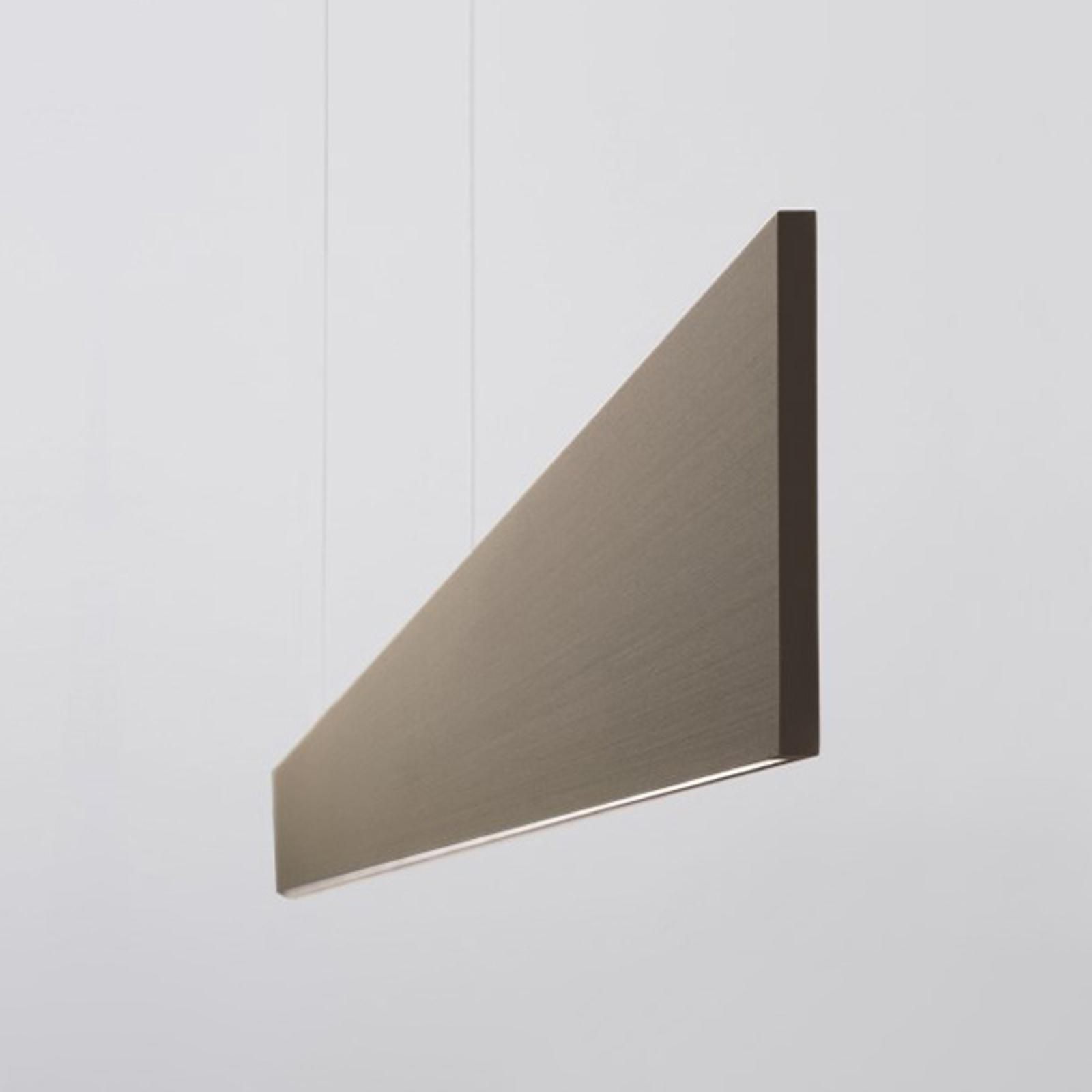 LED-Hängeleuchte After 8 122cm DALI 3.000K bronze