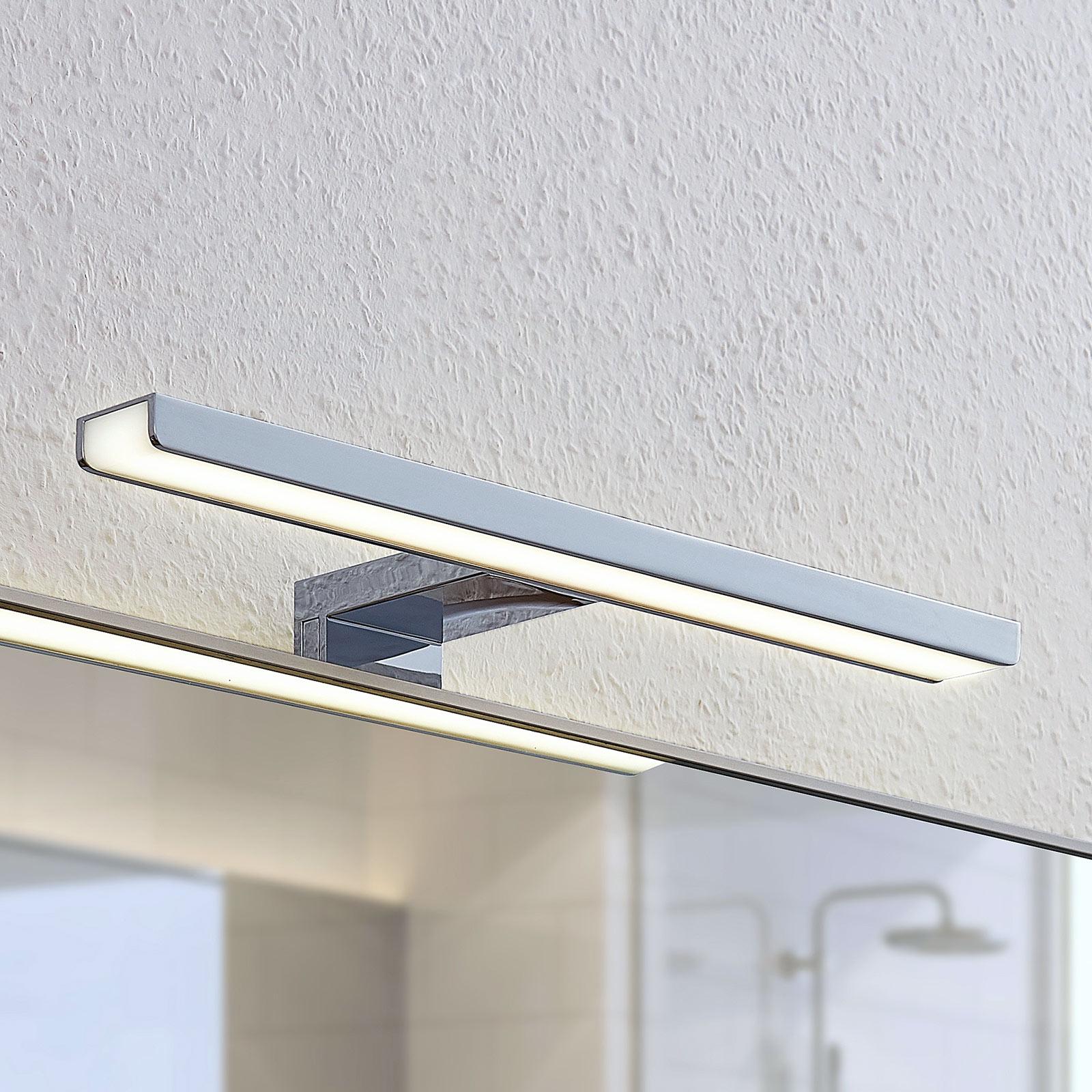 LED-bade- og speillampe Peggy, 30 cm
