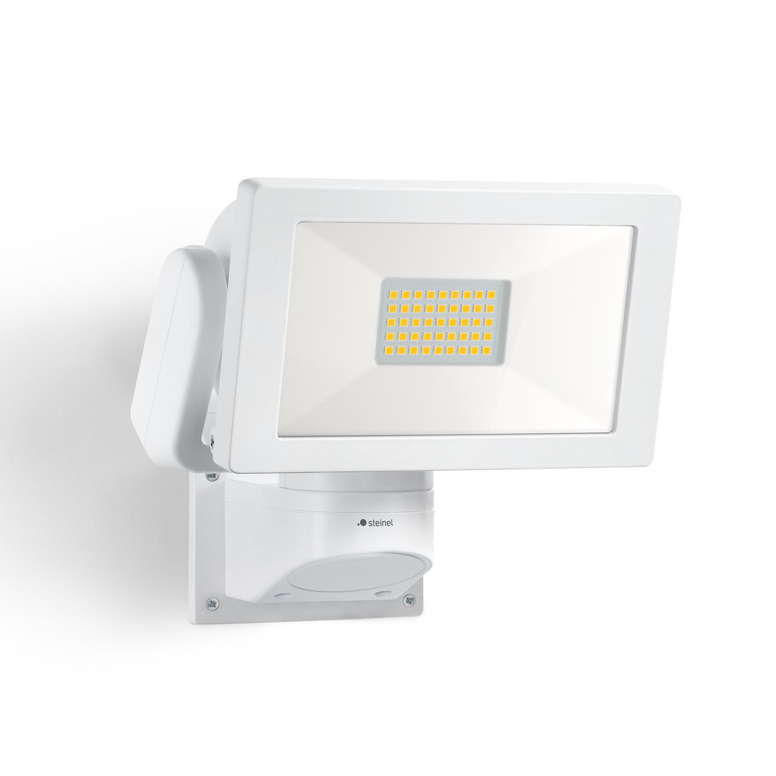 STEINEL LS 300 M utendørs LED-spot, hvit
