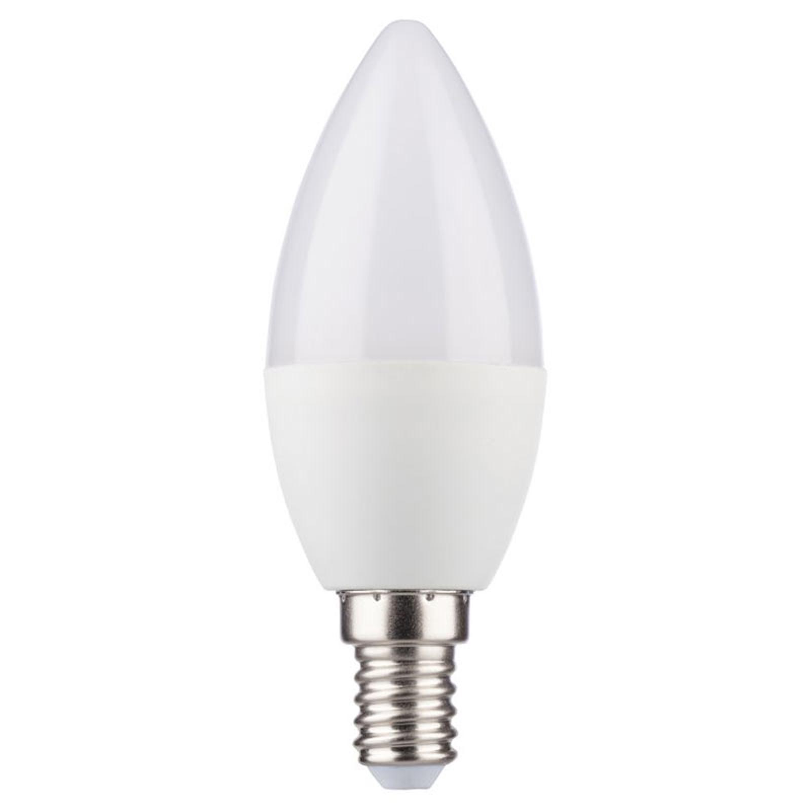 Żarówka świeca LED E14 5,5 W ciepła biel RA 95
