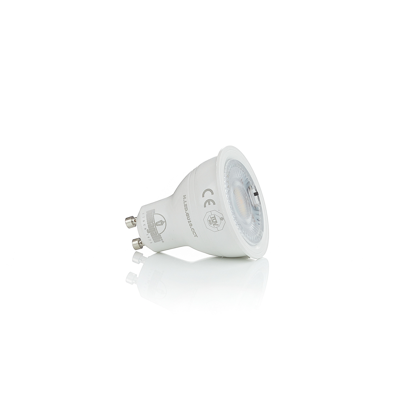 Riflettore LED GU10 CCT, 3,5 W, 350 lm