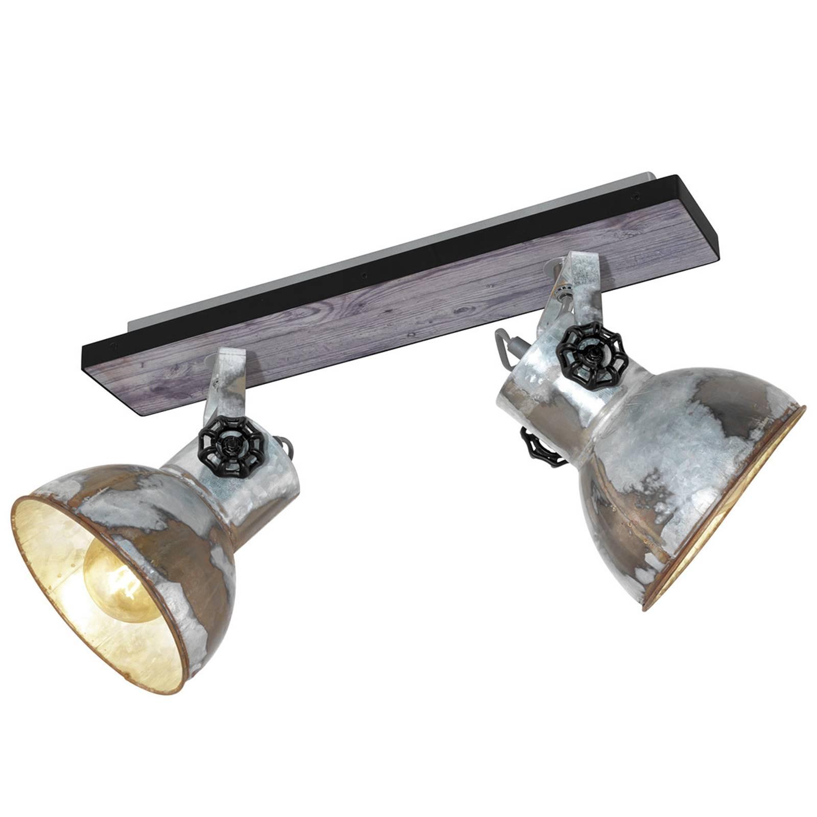 Industrialna lampa sufitowa Barnstaple 2-pkt.