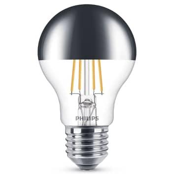 Philips E27 żarówka lustrzana LED 7,2W ciepła biel