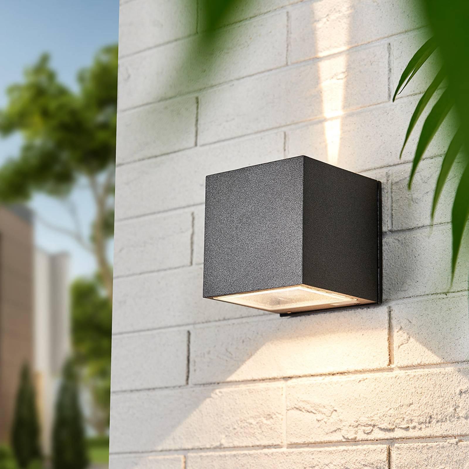 LED spot Leron lichtuitstraling smal breed