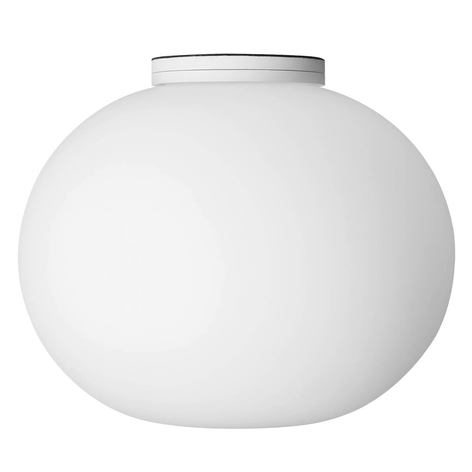 Diskret Glo-Ball C-W Zero loftlampe
