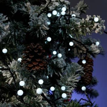 LED-lyslenke utendørs 80 lyskilder, dagslys