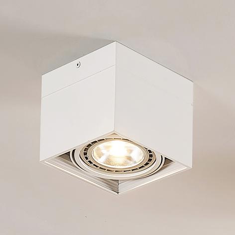 Spot LED Michonne in bianco a 1 luce