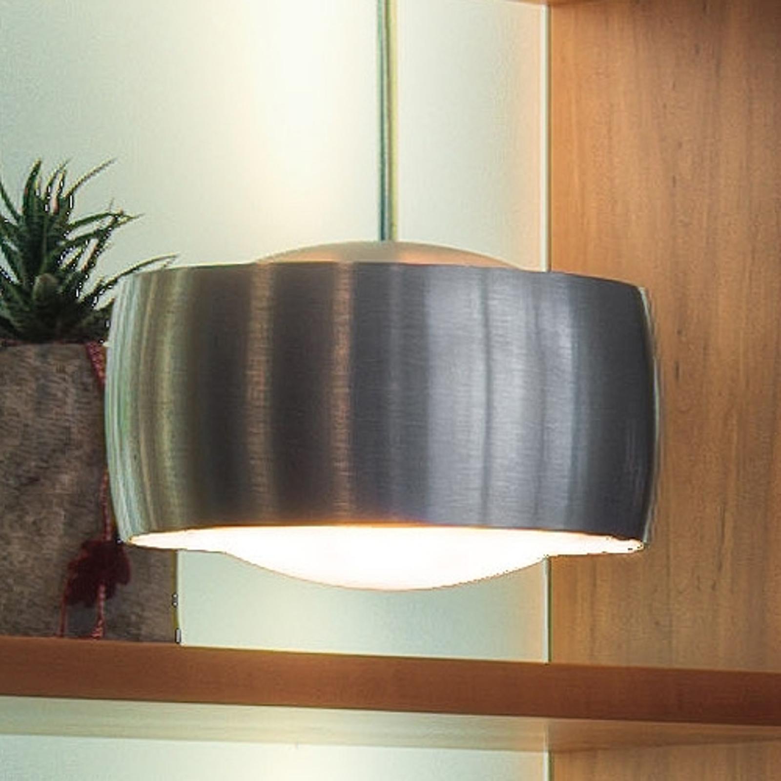 Hanglamp GRACE v PLUG-IN 12V, aluminium geborsteld