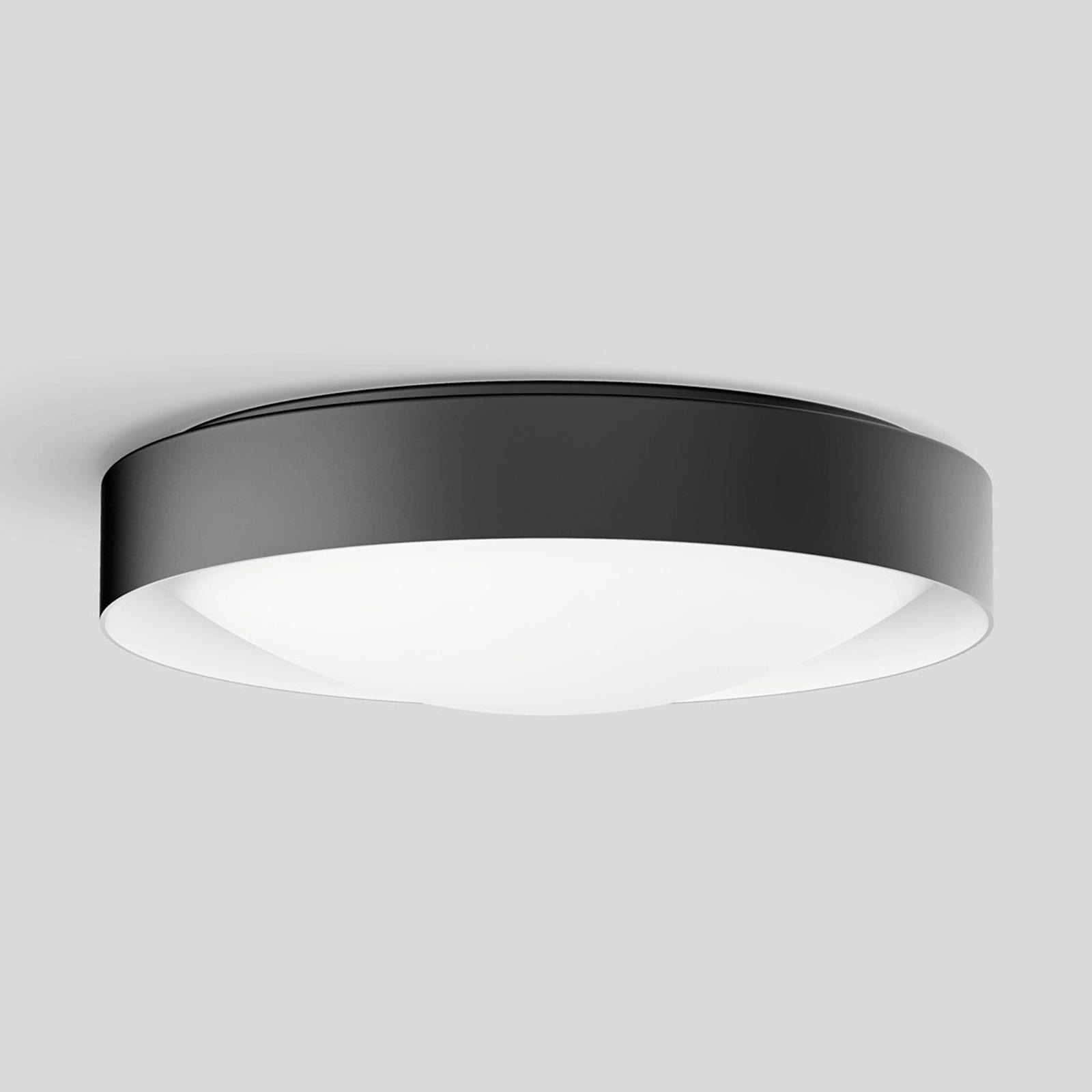 BEGA Studio Line Deckenlampe Ø36cm schwarz/weiß