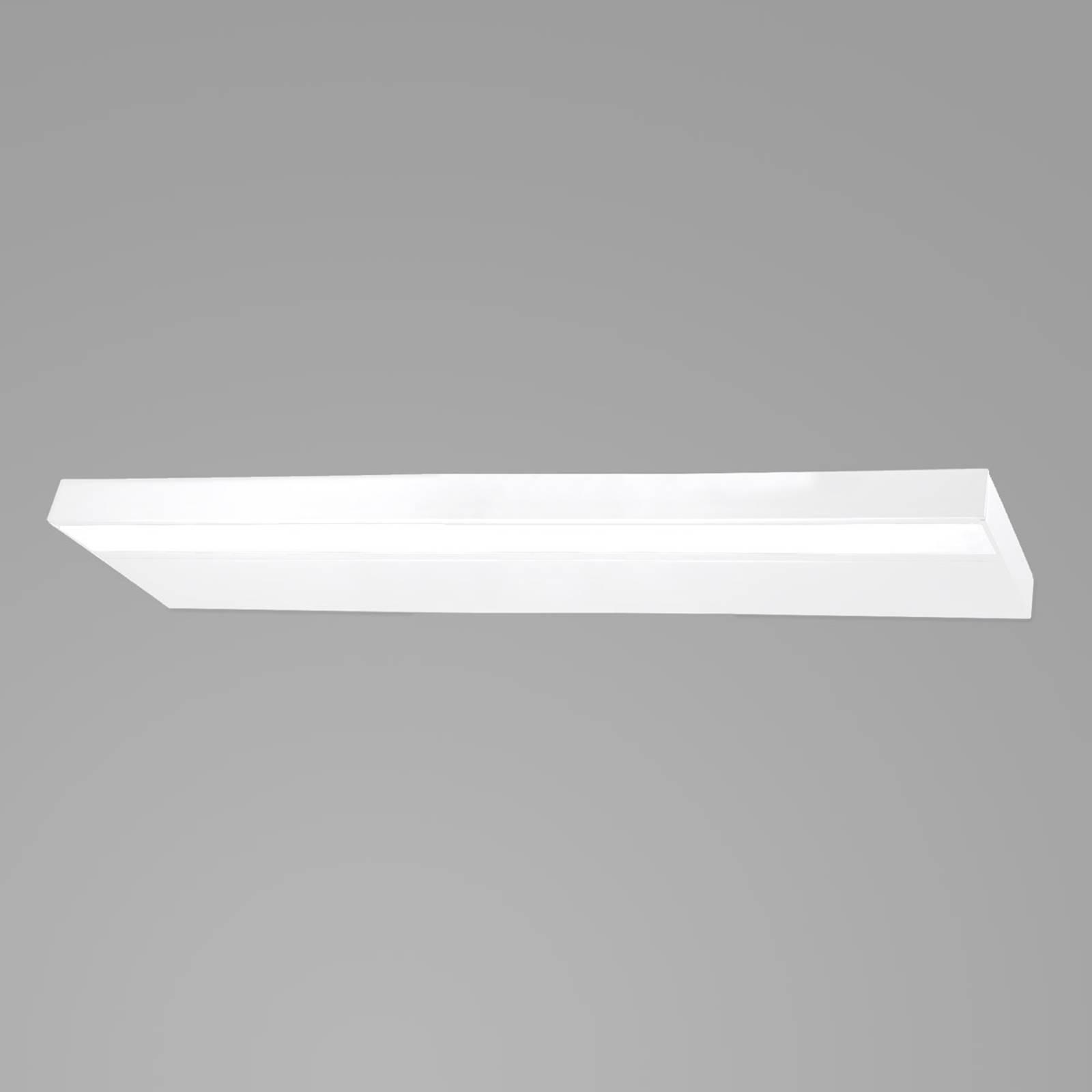 Moderna applique LED bagno Prim IP20 120 cm bianco